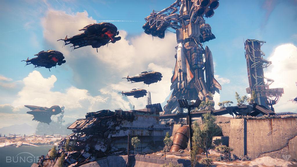 Obszerne środowisko gry to jedna z największych zalet Destiny!