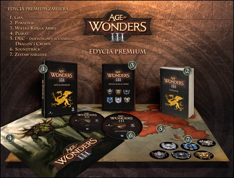 AoW III - wizualizacja - edycja premium