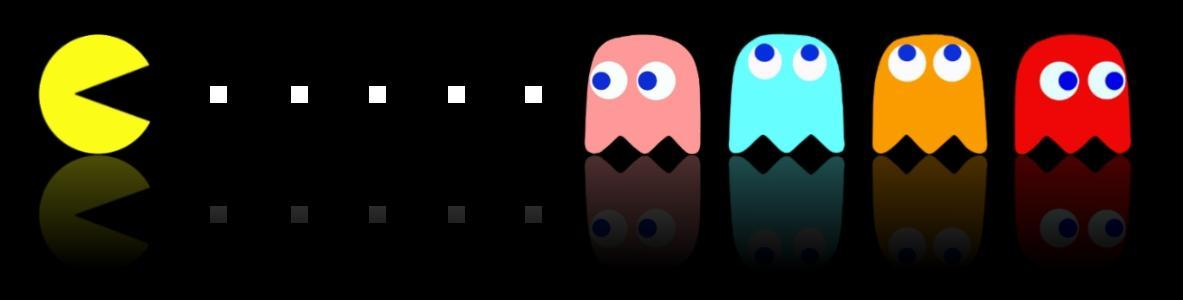 Pac Man - ikona branży gier wideo, jedna z pierwszych pozycji, która podbiła serca ludzi na całym świecie.