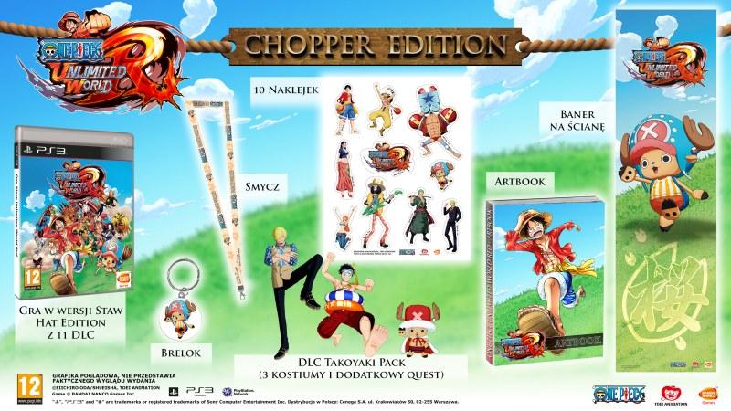 Edycja kolekcjonerska gry  One Piece Unlimited World Red.
