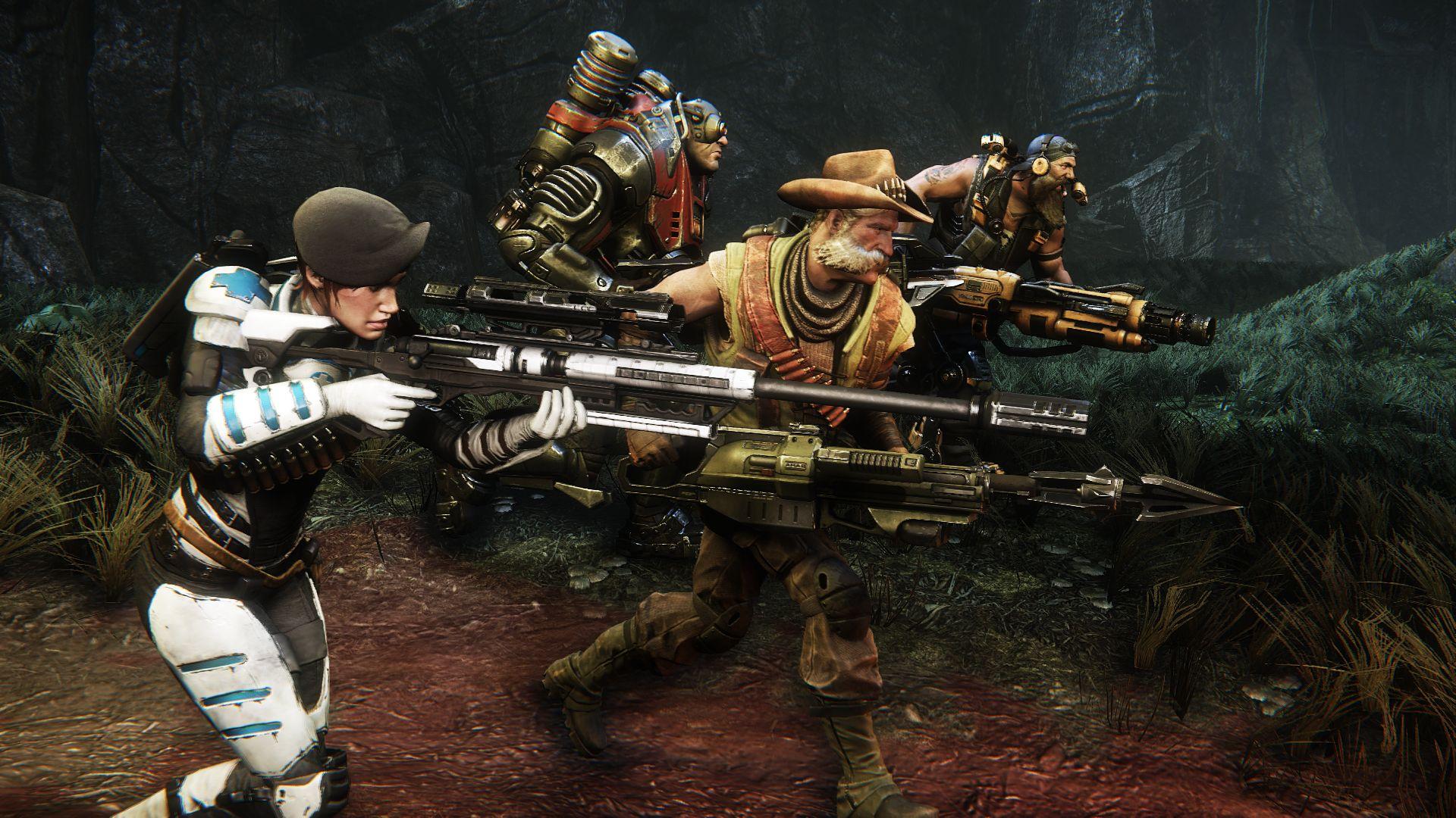Evolve to całkiem ciekawa pozycja dla graczy, którzy lubią rozgrywki w kooperacji.