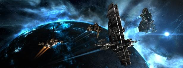 EVE Online to gra MMO, która wydana została tylko na komputery osobiste.  Jej konsolowa wersja, EVE: Valkyrie, trafi na PlayStation 4.