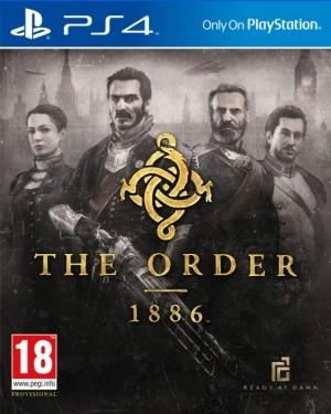The Order: 1886 - oficjalna okładka gry.
