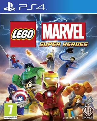LEGO Marvel Super Heroes w wersji na PlayStation 4.