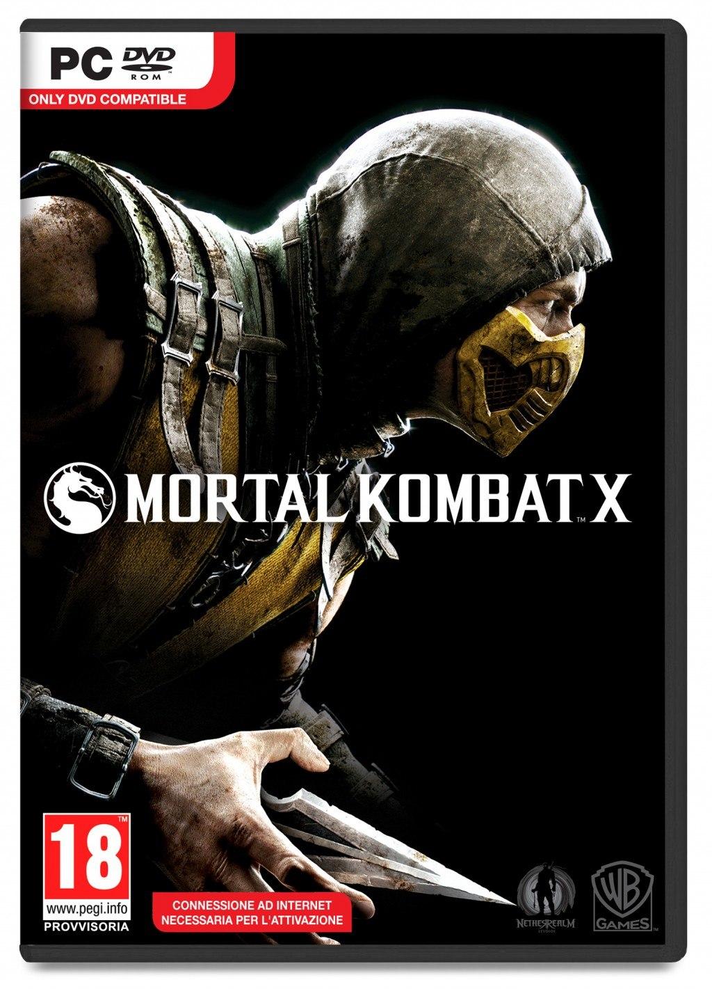Mortal Kombat X w wersji na PC.