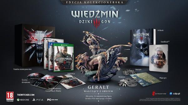 Edycja Kolekcjonerska gry Wiedźmin 3: Dziki Gon.