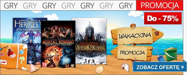 Wilka wakacyjna okazja to okazja do zakupu niezwykle ciekawych gier na komputery osobiste.