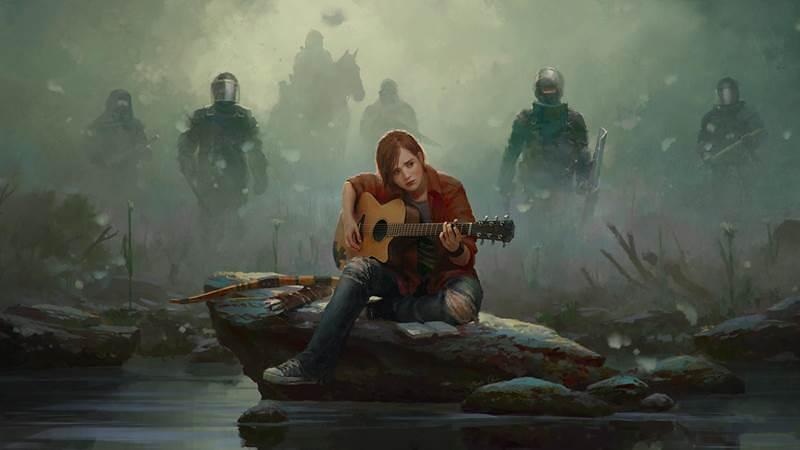 Ilustracja nawiązująca do The Last of Us 2.