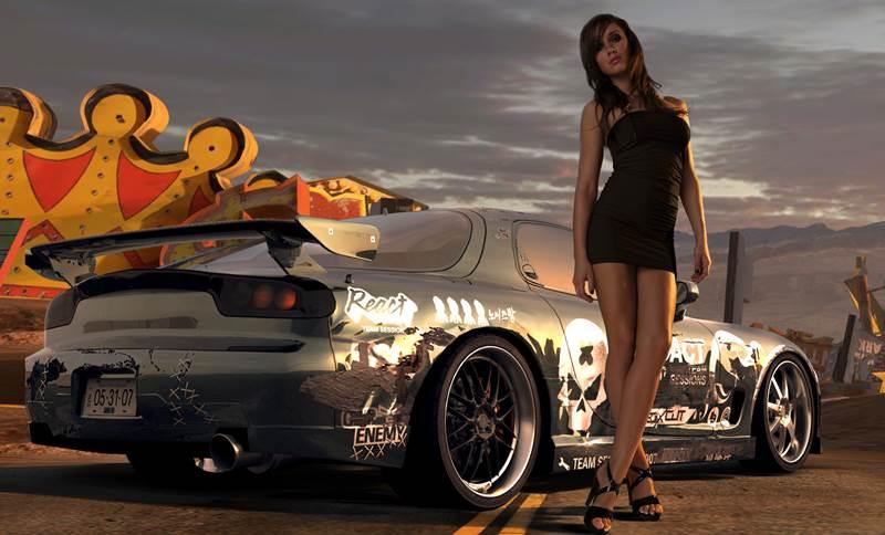 Need For Speed to świetne samochody oraz piękne kobiety.