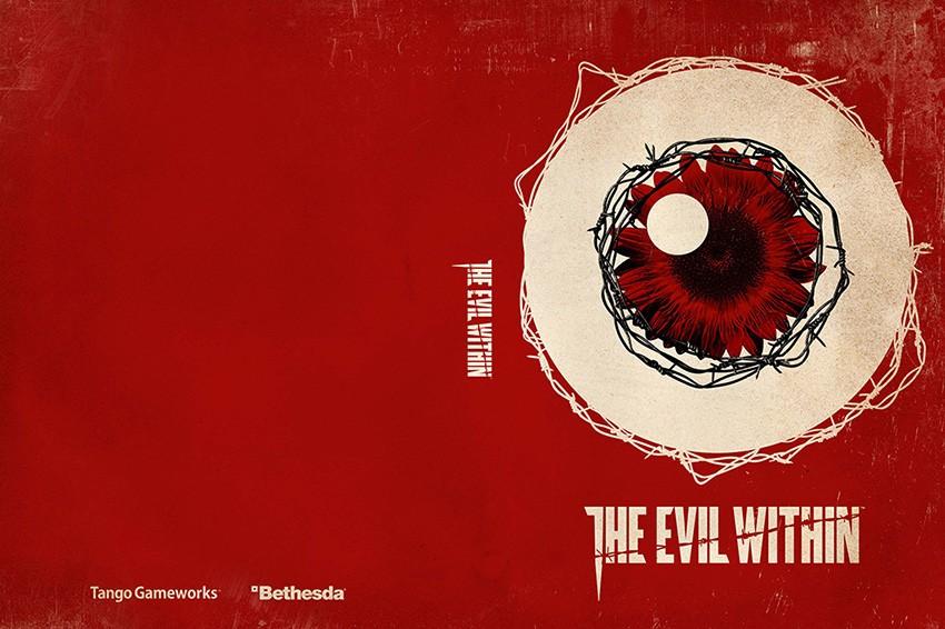 The Evil Within - wzór pierwszej okładki.