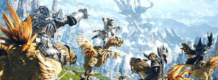 W Final Fantasy XIV: A Realm Reborn przeżyjesz wielką przygodę życia z milionami innych graczy!