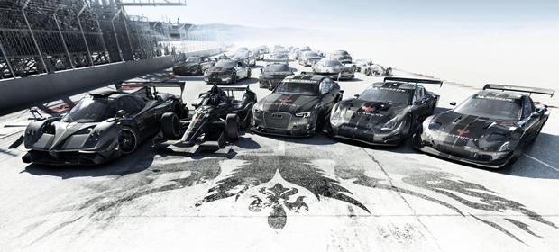 GRID: Autosport oferuje kilkadziesiąt drogich i szybkich samochodów różnych marek.