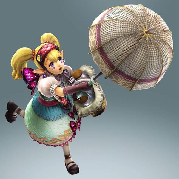 Agitha, czyli jedna z bohaterek gry Hyrule Warriors.