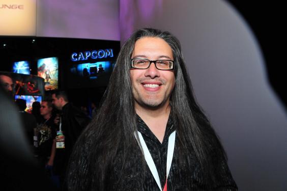 John Romero, twórca marek Quake oraz Wolfenstein.