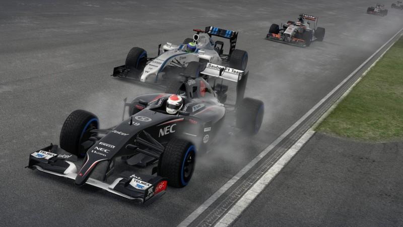 W strugach deszczu bolidy F1 wyglądają fenomenalnie!