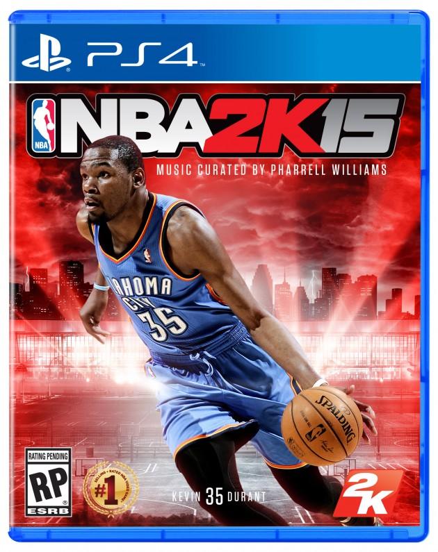 Oficjalna okładka NBA 2K15.