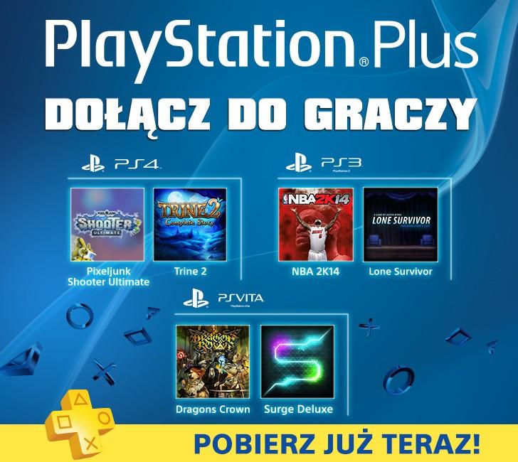 PlayStation Plus - oferta na czerwiec 2014.