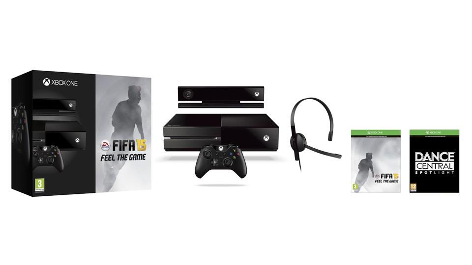 Konsola Xbox One w zestawie z sensorem Kinect 2.0 oraz grą FIFA 15.