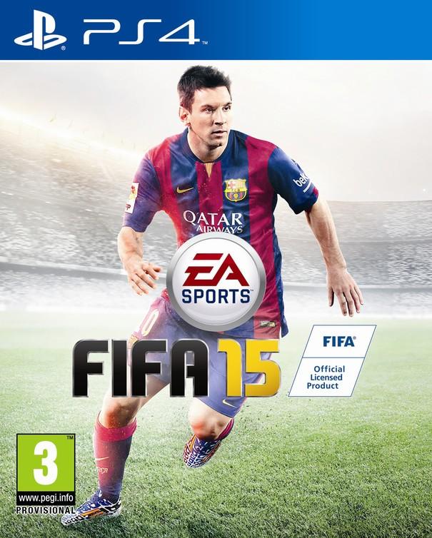 FIFA 15 w wersji na PlayStation 4.