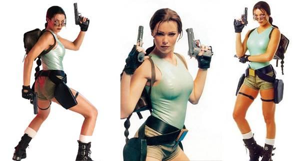 Nell McAndrew była drugą kobietą, która wspomogła promocję Tomb Raider III: Adventures of Lara Croft.
