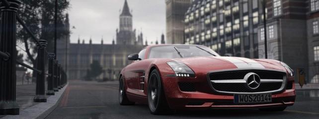 World of Speed cechuje niezwykle dokładna oprawa graficzna.