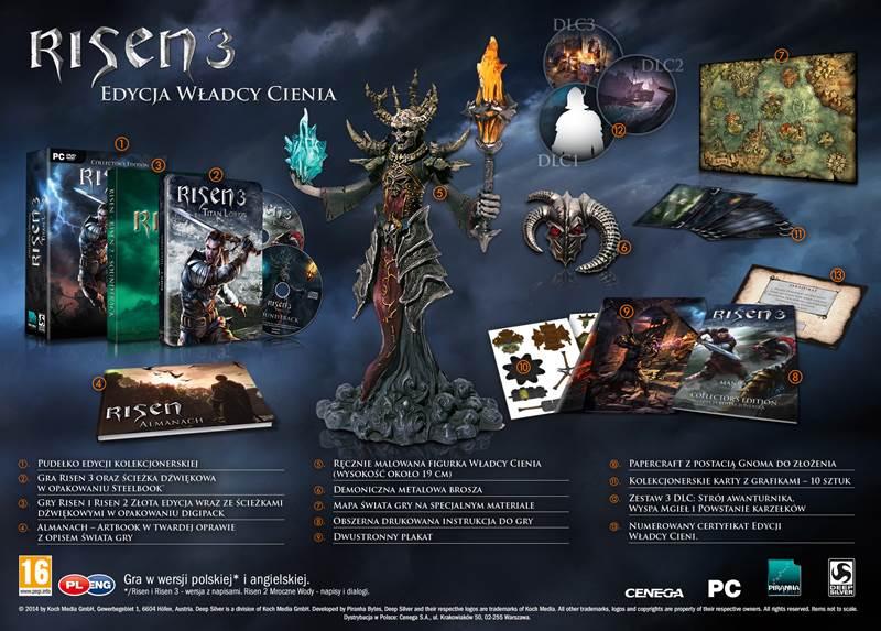 Kolejna edycja specjalna gry Risen 3: Titan Lords.