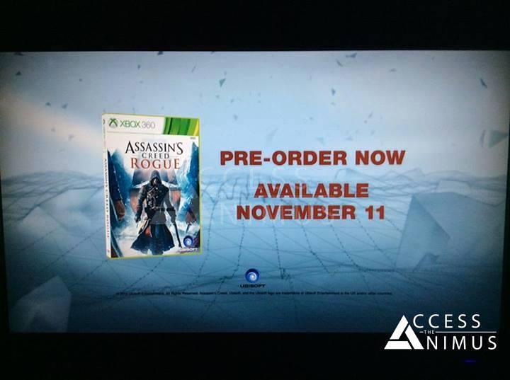 Czyżby okładka Assassin's Creed: Rogue?