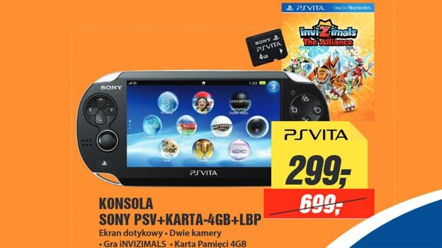 Zainteresowani PlayStation Vita za 299 złotych?