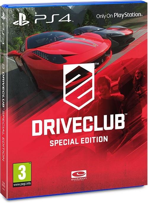 Wydanie specjalne Driveclub jest dostępne tylko na PlayStation 4.