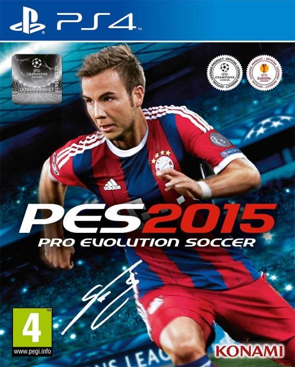 Pro Evolution Soccer 2015 - oficjalna okładka gry.