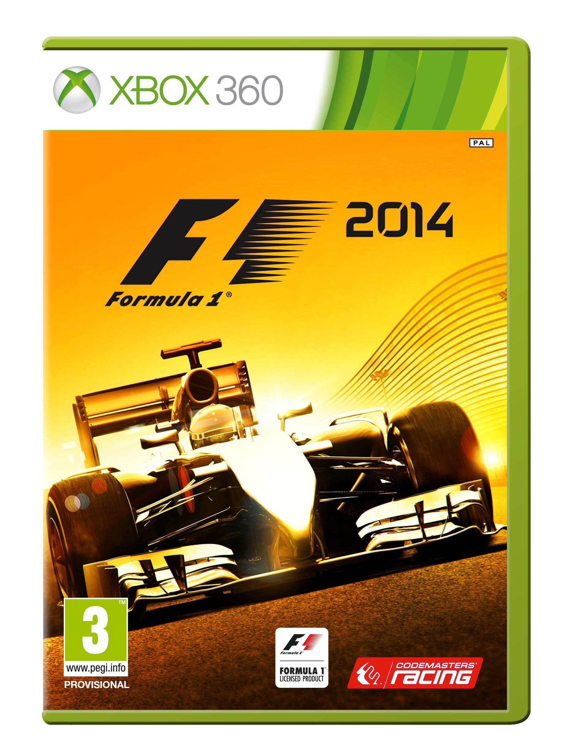 F1 2014 w wersji na Xboksa 360.