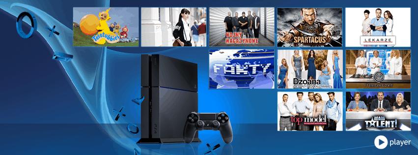 Program telewizji TVN w zasięgu Twojej konsoli PlayStation 4!