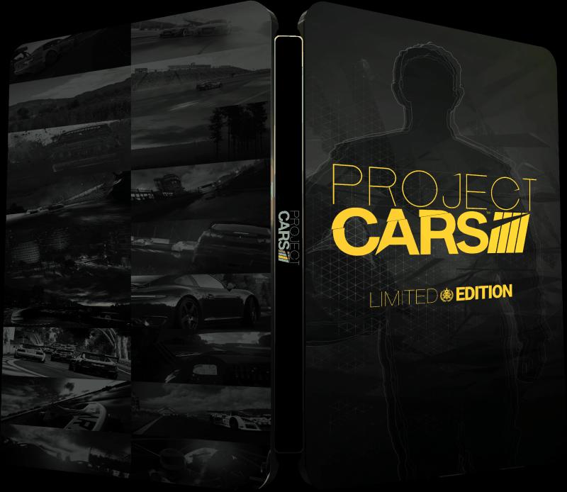 Oficjalna okładka edycji limitowanej Project C.A.R.S.