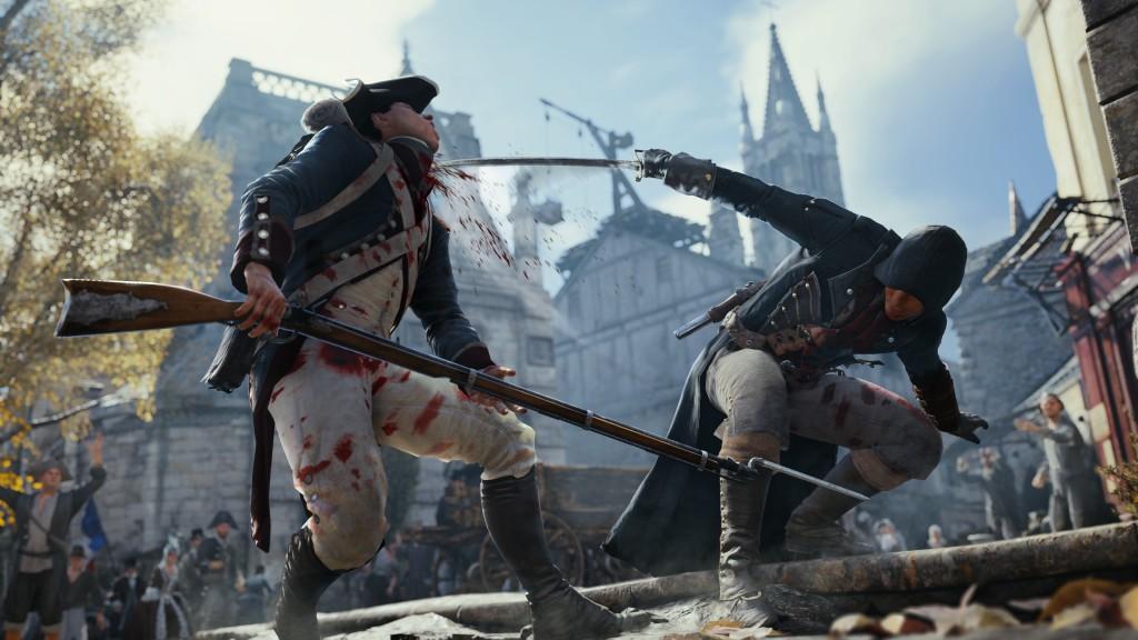 Assassin's Creed: Unity to pierwsza, w pełni next-genowa produkcja firmy Ubisoft.