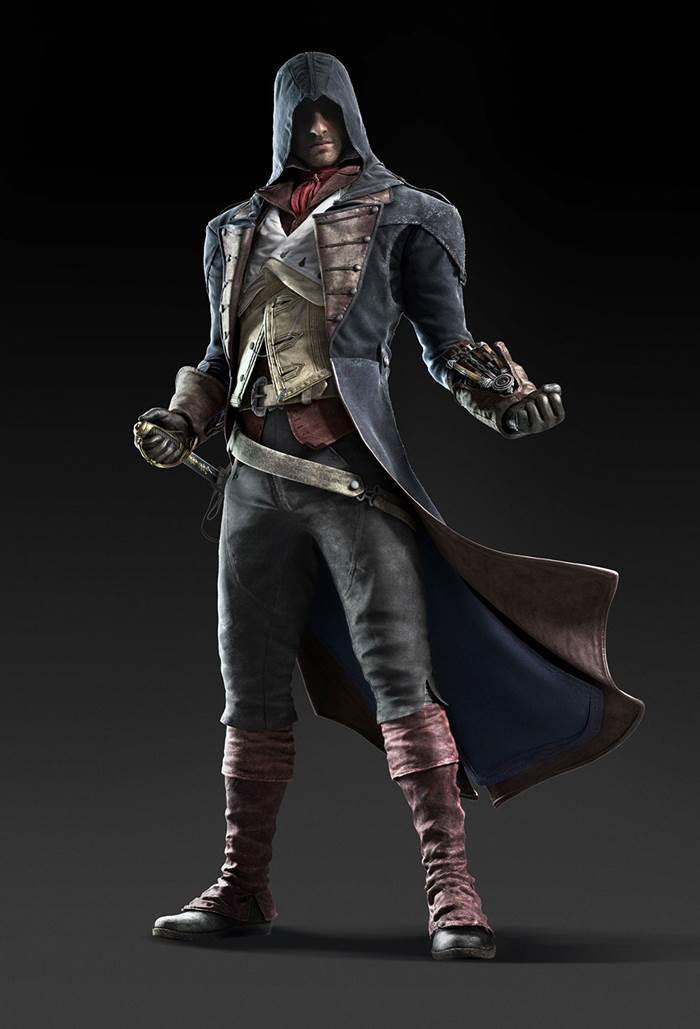 Arno Dorian - główny bohater gry Assassin's Creed: Unity.