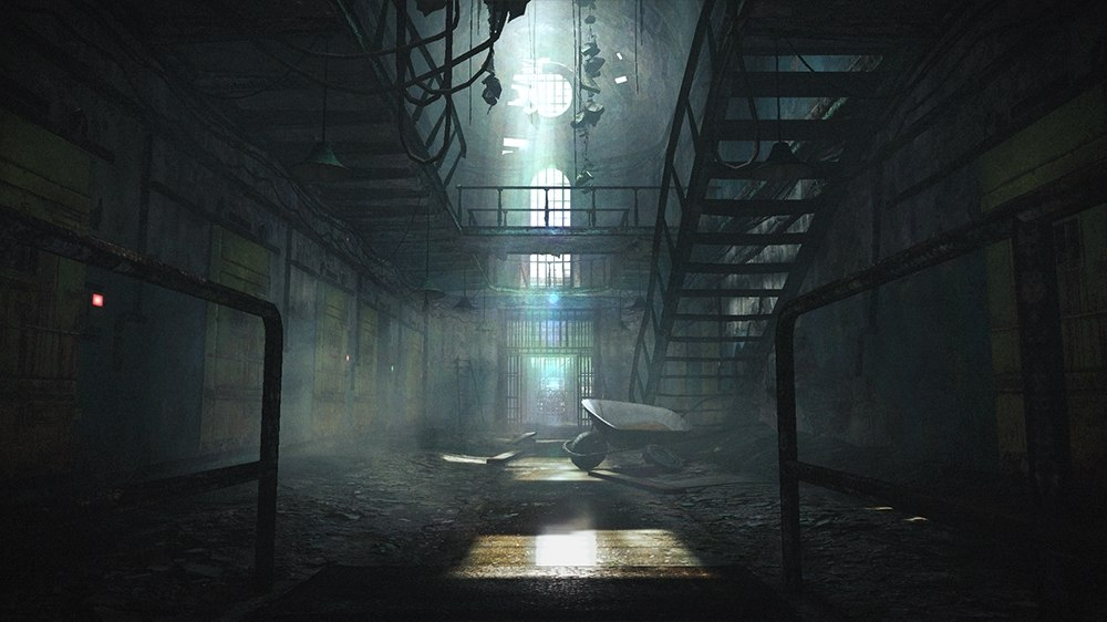 Obskurne wnętrza ośrodka karnego z Resident Evil Revelations 2.