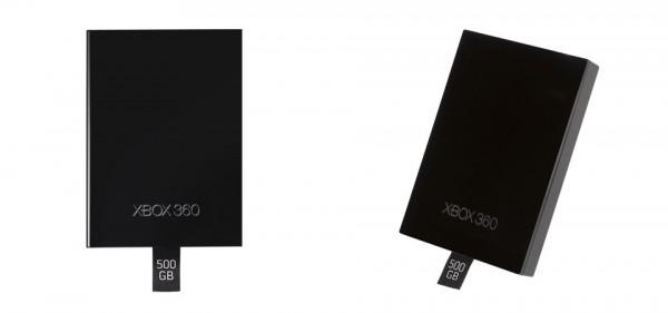 Dyski o pojemności 500 GB dla Xboksa 360 Slim.