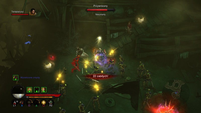 Walka jest dynamiczna, na ekranie dzieje się sporo, ale animacja nie spada nawet na chwilę!