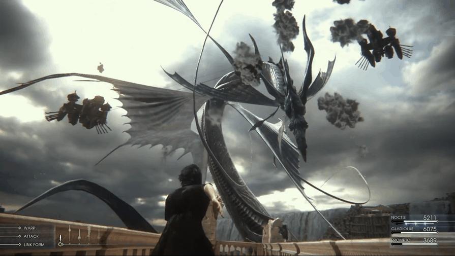 Efektownych starć nie powinno zabraknąć w Final Fantasy XV!