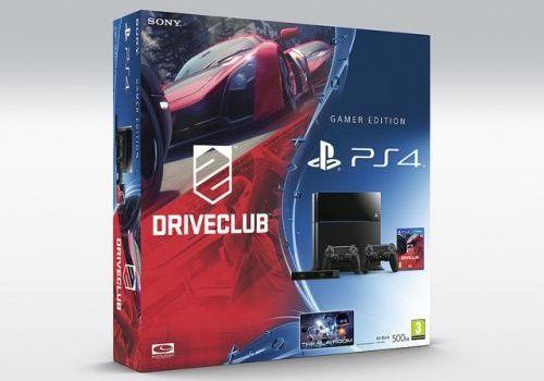 PlayStation 4 wraz z grą Driveclub.