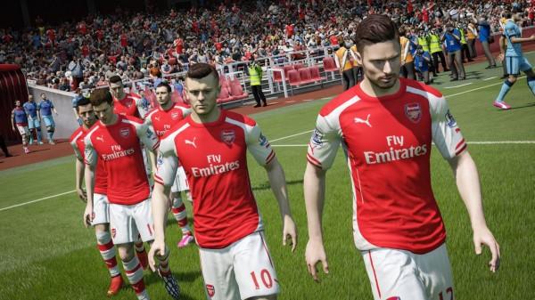 Sylwetki piłkarzy w FIFA 15 prezentują bardzo wysoki poziom wykonania.