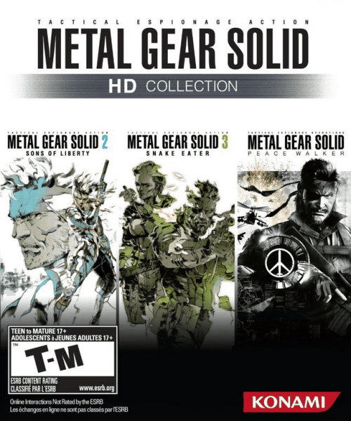 Metal Gear Solid HD Collection.
