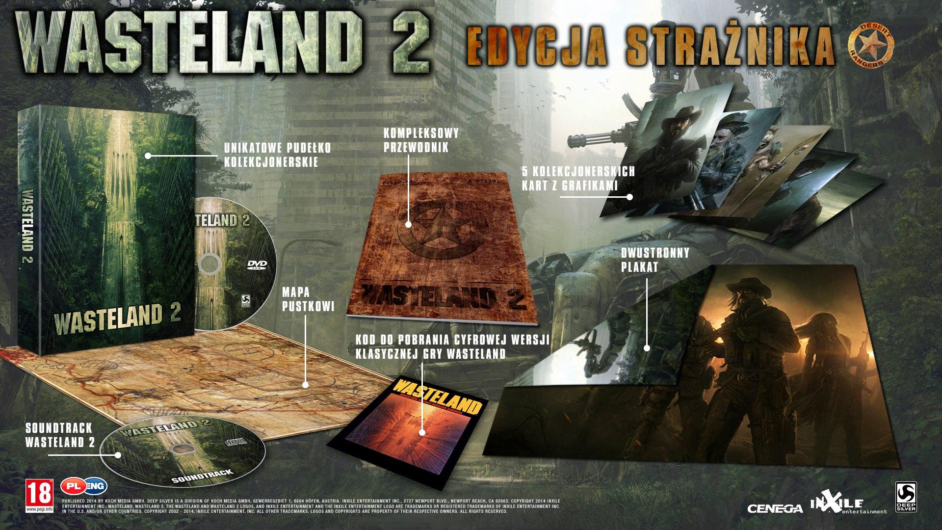 Specjalna edycja gry Wasteland 2.