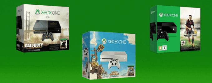Kolejne zestawy konsoli Xbox One, które trafią do naszego kraju.