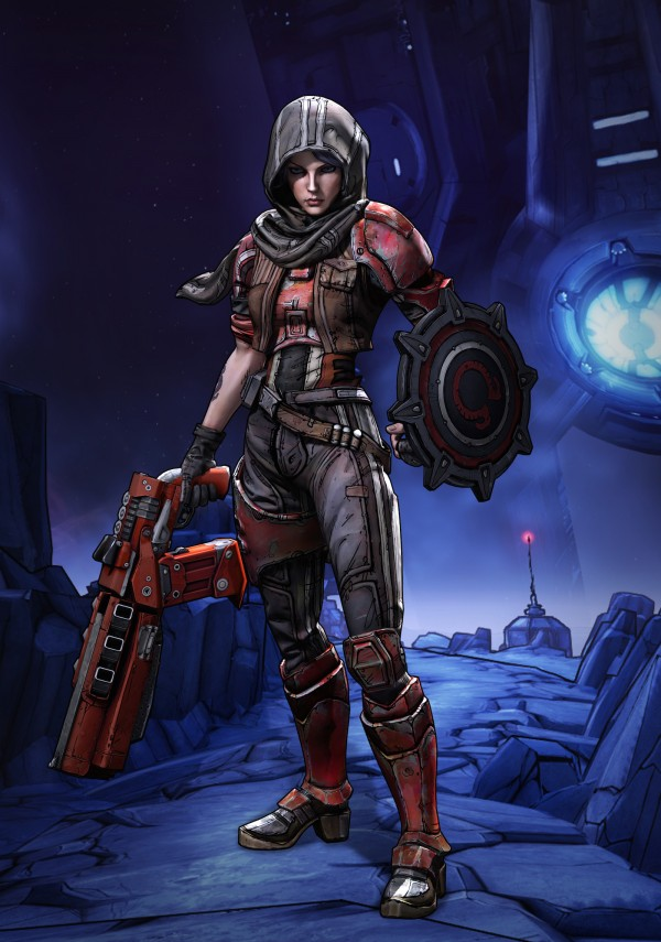 Athena, jedna z bohaterek Borderlands: The Pre-Sequel!