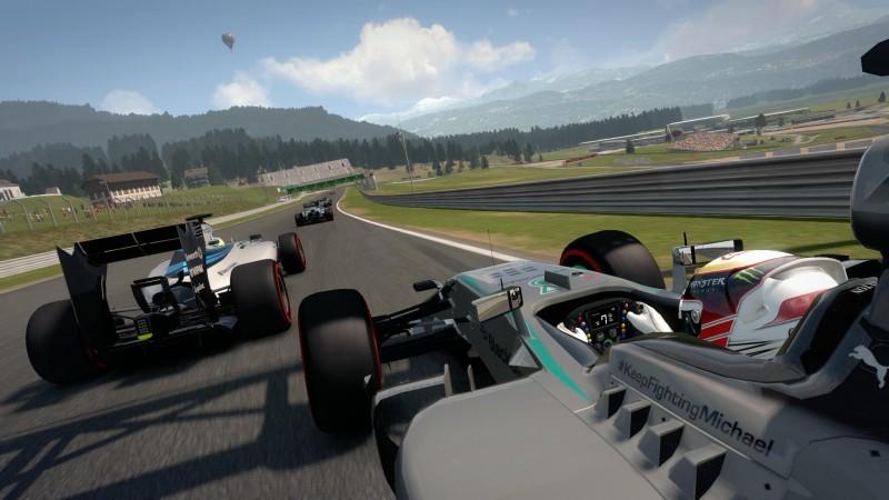 Trasy w F1 2014 prezentują się bardzo okazale.
