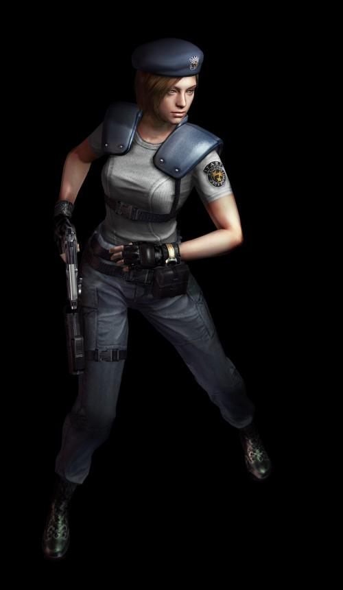 Jill Valentine, główna bohaterka oryginalnego Resident Evil.