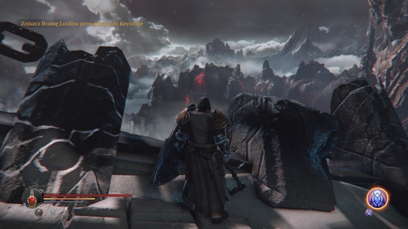 Harkyn, główny bohater Lords of the Fallen żyje w mrocznym świecie fantasy.
