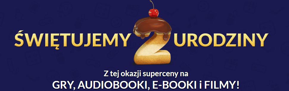 cdp.pl obchodzi urodziny, w związku z tym przygotowano dla graczy mnóstwo ciekawych ofert.