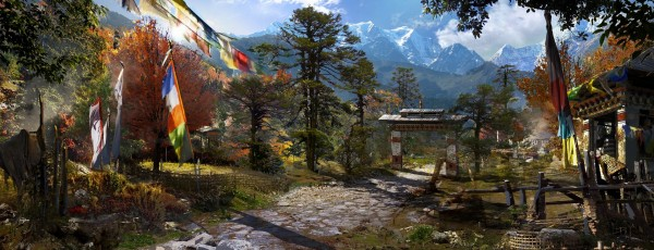 Far Cry 4 pojawi się na konsolach nowej generacji i pozwoli nam na dużą swobodę podczas rozgrywki, właśnie za sprawą otwartej struktury świata.